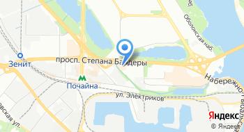 BFK Украина на карте