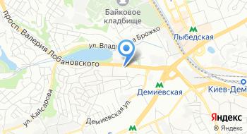 Музей-класс Валерия Лобановского на карте