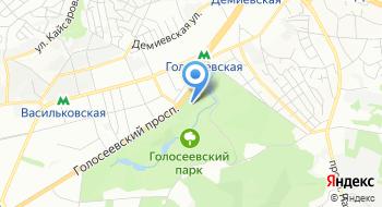 Голосеевский парк культуры и отдыха имени М.Т. Рыльского на карте