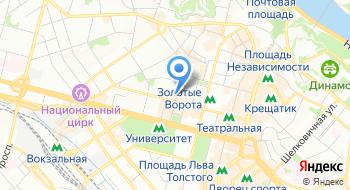 Магазин Все для офиса на карте