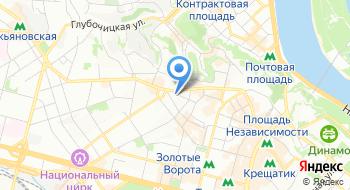Киевский городской профсоюз машиностроителей и приборостроителей на карте