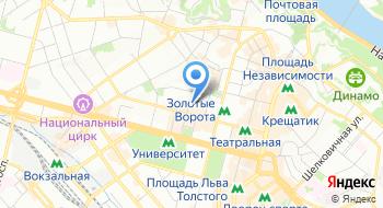 Филиал Главный информационно-вычислительный центр Украинской железной дороги на карте