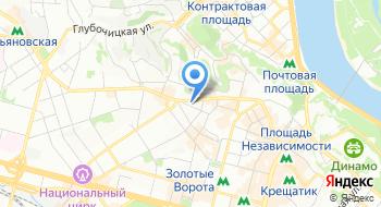 Торгово промышленная палата Украины на карте