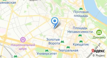 Radisson Blu Hotel, Kyiv на карте