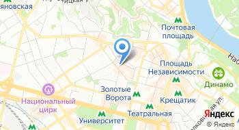 Книжный магазин Абзац на карте