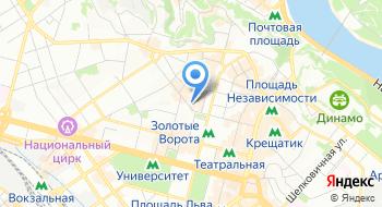 Посольство Республики Польша в Украине на карте