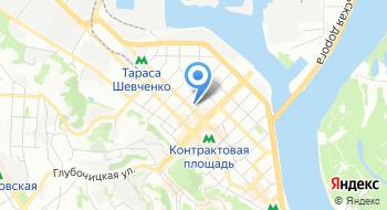 Подольский районный отдел Главного управления Государственной миграционной службы Украины в г. Киеве на карте