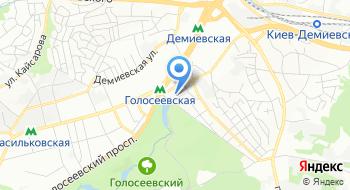 Центр первичной медико-санитарной помощи № 2 Голосеевского района г. Киева Отделения неотложной медицинской помощи дома на карте