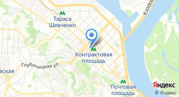 Компания Крок-Укрзализбуд на карте