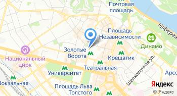 Коммунальное коммерческое унитарное предприятие Финансовая компания Житло-Инвест Департамент строительства и жилищного обеспечения на карте