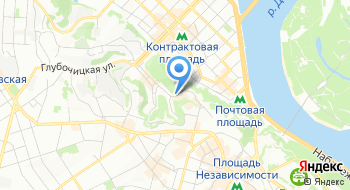 Компания Benton Украина на карте
