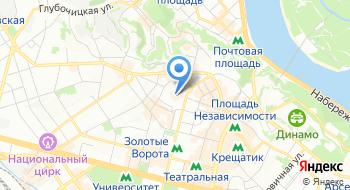 Национальный заповедник София Киевская на карте