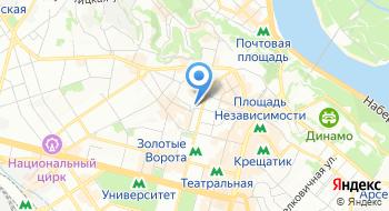 Тренажерный зал Виктория на карте