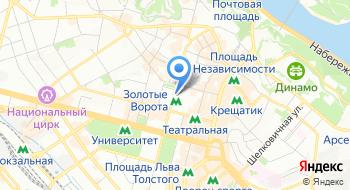 Петкус Украина на карте