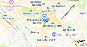 Компания Discover the world Ukrain на карте