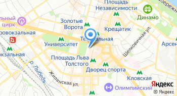 Главное управление Государственной казначейской службы Украины в г. Киеве на карте