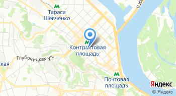 Национальный президентский оркестр Министерства обороны Украины на карте