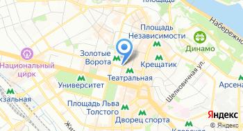 Визовый центр Мира на карте