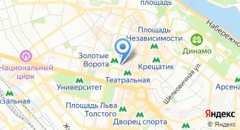 Штамп Сервис + на карте