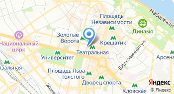 Музей литературы на карте