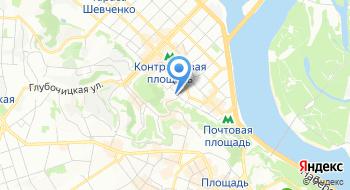 Авиакомпания Люфтганза на карте