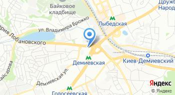 Сервисний центр Компьютерная помощь на карте