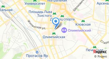 Касса Киевского национального академического театра оперетты на карте