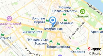 Киевский городской клинический эндокринологический центр на карте