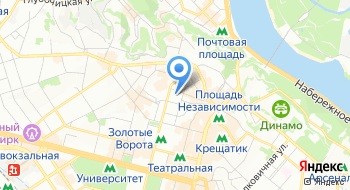 Национальный центр театрального искусства им. Леся Курбаса на карте