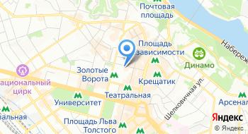 Киевский академический Молодой театр на карте