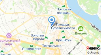 Центр культуры и искусств Сбу Украины на карте