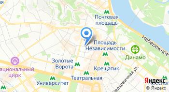 Бонтиак Отель на карте