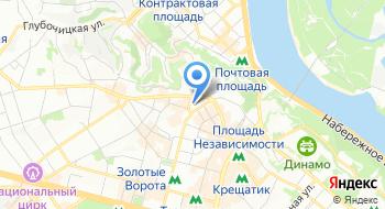 Главное управление Полиции в Киевской области на карте