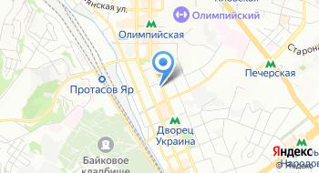 Голосеевская межрайонная МСЭК г. Киева на карте