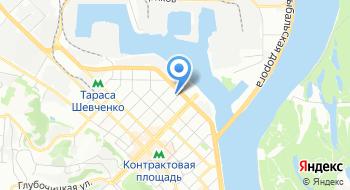 Интернет-магазин Rozetka.com.ua на карте