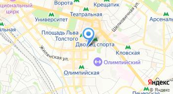 Украинский филиал международной христианской благотворительной организации Армия спасения в Украине на карте