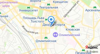 Компания Укрпрофздравница на карте