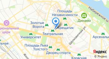 Коммунальное бюджетное учреждение Контактный центр города Киева на карте