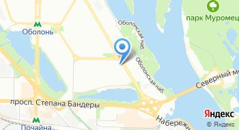 Альянс строителей Украины на карте