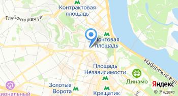 Государственное предприятие Дирекция передвижных цирковых коллективов Украины на карте
