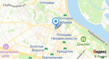 Главное управление государственной фельдъегерской службы Украины на карте