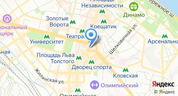Киевская агропромышленная биржа на карте