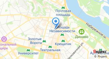 Литературно-мемориальный дом-музей Тараса Шевченко на карте