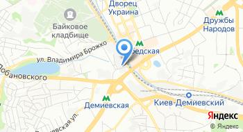 Интернет-магазин In-green на карте
