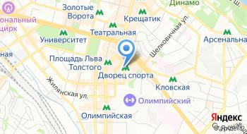 Еврейская религиозная община в г. Киеве на карте