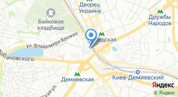 Таможенный пост специализированный Киевской городской таможни на карте