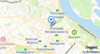 Гостиничный сервис Kiev Accommodation на карте