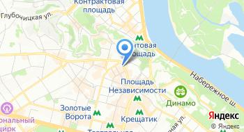 АН Киевский риелтор на карте