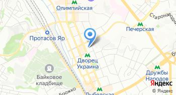 Национальный дворец искусств Украины на карте