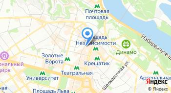Национальная комиссия по регулированию рынков финансовых услуг Украины на карте